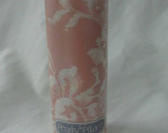 Solar Clearance Vintage Avon 80s Pearls and Lace Collectible Display Perfumed Soft Talc Powder