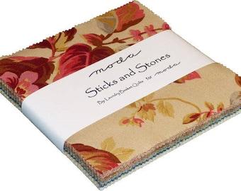 Sticks and Stones-Laundry Basket Quilts-Edyta Sitar-Moda Fabrics-Charm Pack