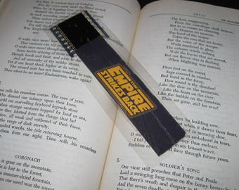 Star Wars Bookmark - The Empire Strikes Back - Recycled Film
