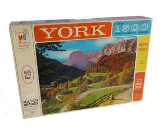 Milton Bradley Co. Vintage 1963 York Puzzle Ramsou, Germany Sealed