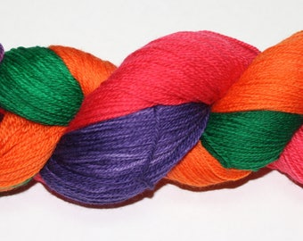Ready to Ship - Sanderson Sisters Hand Dyed Sock Yarn - Soft Sock
