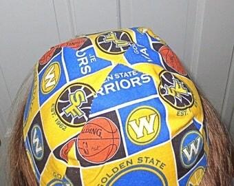 NBA Golden State Warriors yarmulke or kippah basketball yarmulke  professional sports yamaka great gift for him
