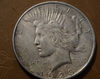 1923 Peace Silver Dollar (D) Coin antique coins for Jewelry Jeweler Numismatic Coinage Retro Americana Coinage 1920's Lot #40