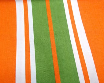 cotton retro vintage bedsheet and pillow case in original seventies packing