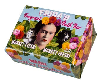Frida Kahlo Fragrant Soap Bar