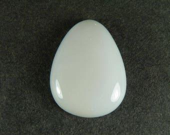 White Chalcedony Custom Cabochon