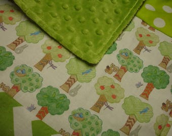 Tree Grove Baby Burp Cloth 13 x 14 READY TO SHIP