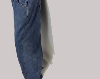 Reconstructed Wide Legged Levi jeans 37 waist
