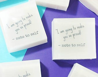 Best Friend gift. Inspirational Gift. Gift for Her. Bar Soap. I am going to make YOU so Proud. Encouragement Gift. handmade soap. natural