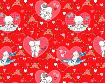 EXTRA20 20% OFF Riley Blake Designs Kewpie Love - Main Red