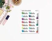 Flea and Tick Planner Stickers/ Functional Stickers/ Pet Stickers/Erin Condren/ Plum Paper/ Recollections/ Happy Planner #331