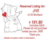 RESERVED LISTING for JHS