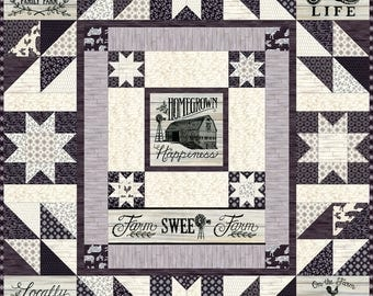 Home Grown Quilt Kit (KIT19820) -  by Deb Strain