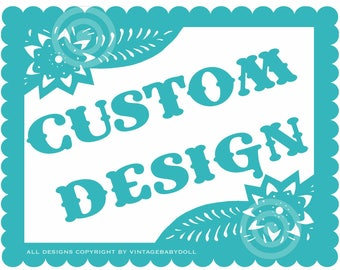 Reserved add on 2 more banners to previously ordered papel picado