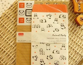 Kawaii Japanese Letter Set - Little Panda