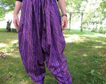 Gypsy Harem Pants, Hammer Pants, Sufi Pants, Drop Crotch Pants