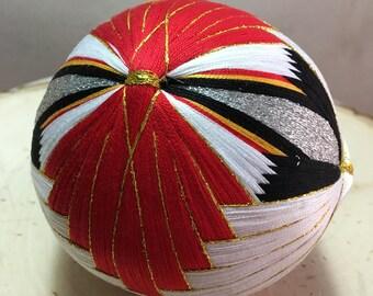 Hand made Temari ball (crane)