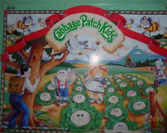 1983 Original Applause Cabbage Patch Kids (TM) Metal TV Tray