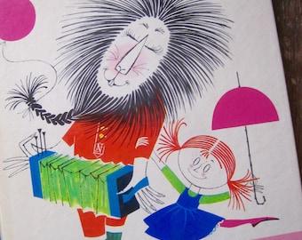 French Book, Mandor Et Papillote, Vintage Children's Book, Vintage Book, Mid Century Illustrations, Children's Book Art, Mid Century Modern