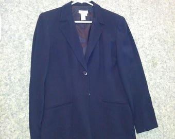 Talbot's Navy Suit Blazer - Women's size 10