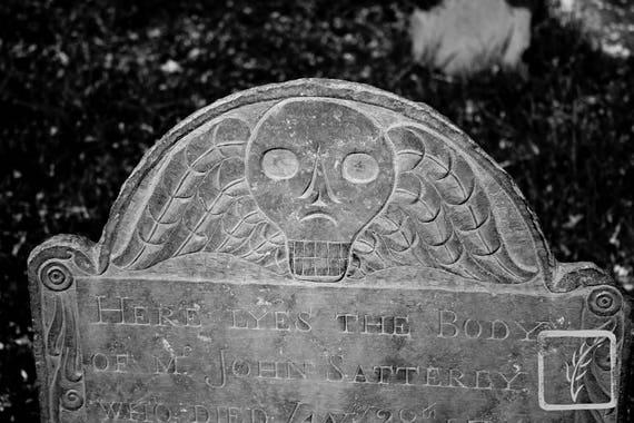 """Mr John Satterly 1712-1749,"" Old Huntington Burying Ground, Huntington, New York, 2015."