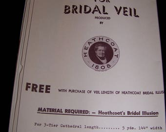 A Pattern for Bridal Veil.  by Heathcoat 1808 Cathedral length