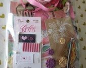 Paper Craft Inspiration Kit - Bella Blvd - CTMH - Heidi Swapp - Amy Tangerine - Die Cuts - Trims - HAPPY MAIL