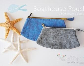 Boathouse Pouch PDF Sewing Pattern