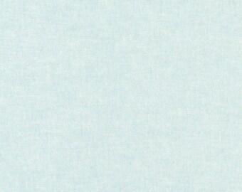 Essex Linen Fabric Yarn Dyed Cotton, EO64-AQUA Aqua, Yardage, Robert Kaufman
