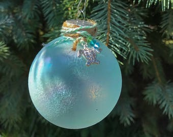 Coastal Christmas Ornament