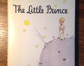 The Little Prince book, Antoine de Saint-Exupery, hardcover, 1982 - Vintage Book, Classic Book, Children's Book, Collectible Book