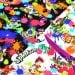 Splatoon fabric  Printed in Japan half meter  19.6  by 42 inches  2 background color to choose ©nintendo