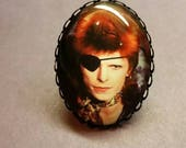 Ziggy Stardust adjustable ring