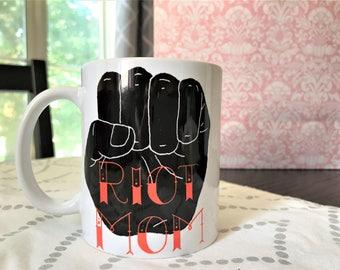 As Is - Riot Mom - coffee mug