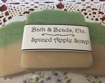 Spiced Apple Cold Process Soap