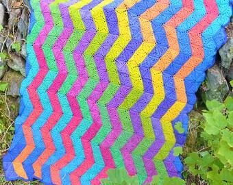 Zigzag - Crochet Blanket - PDF Crochet Pattern