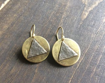 Alcoholics Anonymous Womens Sobriety Earrings AA Inspirational Recovery Jewelry