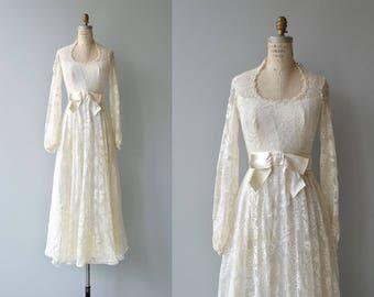 Adair wedding gown | vintage 1970s wedding dress | long sleeve wedding dress