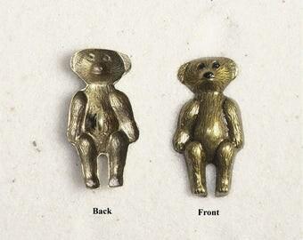 Old Fashion Teddy Bear Button- #356