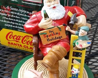 Coca Cola Santa Claus Bank