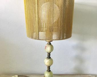 Vintage mid century 1960s ceramic lamp