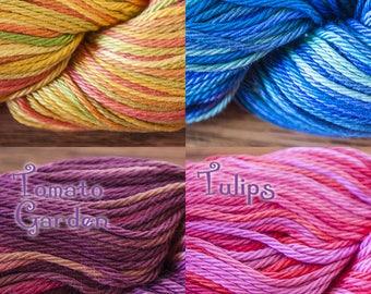 Cascade Ultra Pima Paints DK Weight 100% Cotton Yarn