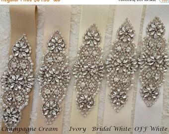 SALE 20% Wedding Sash Belt Bridal Sash Belt Rhinestone Sash Crystal Sash Swarovsky Sash