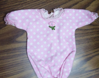 Tiny Thumbelina Infant Gown/Bunting