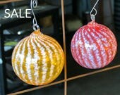 Striped Ornaments Set of ...