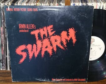The Swarm Vintage Vinyl Motion Picture Soundtrack Record