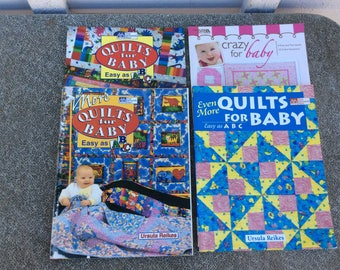 Quilting Book Lot of (4)