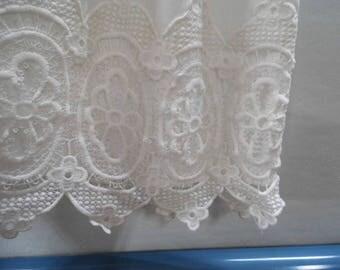 Claire cotton venice lace christening, baptism, blessing gown, dress