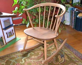 Ercol Chair Ercol Cowhorn Rocking Chair