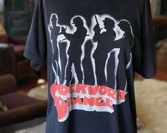 Vintage Clockwork Orange T-shirt Tee
